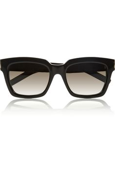 Saint Laurent | Bold 1 square-frame acetate sunglasses | NET-A-PORTER.COM