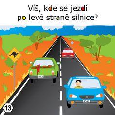 Víš, kde se jezdí po levé straně silnice? Nevada, 21st
