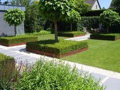 Strakke tuin