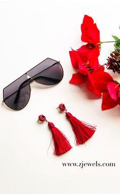 red tassel earrings, Tassel earrings, tassel earrings 2017, tassel earrings beaded boho, tassel earrings beaded, red tassel earrings jewelry, red tassel earrings products, tassel earrings flatlay, jewelry flatlay, jewelry flatlay instagram, jewelry flatlay accessories, all black accessories, all black accessories fashion, black sunglasses, black sunglasses oversized, black sunglasses aesthetic,  black sunglasses, black sunglasses aviators,