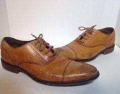 Cole Haan Mens Brown Dress Shoes Size 9 #ColeHaan #Oxfords