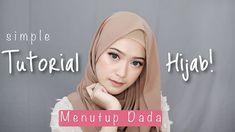 Simple Hijab Tutorial, Hijab Style Tutorial, Style Hijab Simple, Bridal Hijab Styles, Hijab Casual, Hijab Chic, Hijab Outfit, Pashmina Hijab Tutorial, How To Wear Hijab