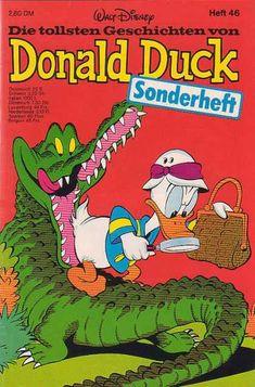 Duck - Basket - Alligator - Teeth - Magnifying Glass 1970s Cartoons, Disney Cartoons, New Ducktales, King Koopa, Looney Tunes Bugs Bunny, Cartoon Posters, Daffy Duck, Retro Video Games, Walt Disney Company
