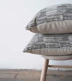 Lines Pillows at Remodelista