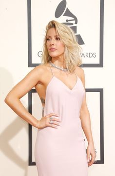 Ellie Goulding's Grammys Beauty Will Make You Dream of Vacation
