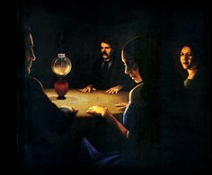 The seance begins ...