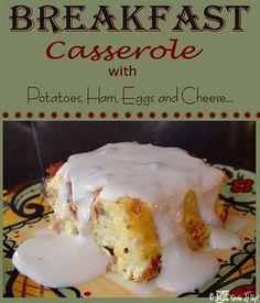 Breakfast casserole!!!
