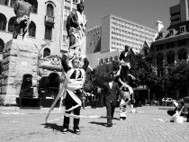 Zip Zap Circus School,Dare to Dream Public Arts Festival, Infecting the city, Capetown SouthAfrica