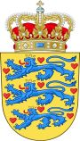 Tanskan vaakuna, Denmark (Wikipedia)