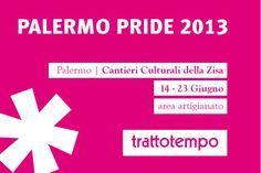 14-23 giugno 2013 // Palermo Pride #orologio #trattotempo #fabriziopollaci #design #tempo