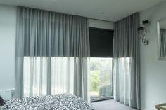 les rideaux gris voilage ikea gris dans la chambre a coucher