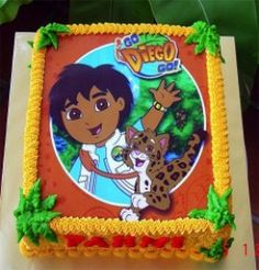 Go Diego Go is still such a popular television show for kids.  You can host a wonderful Go Diego Go birthday celebration with the supplies listed on this page.