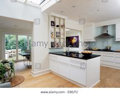 White Kitchen Extensions projects - single storey extension l walters architects leicester