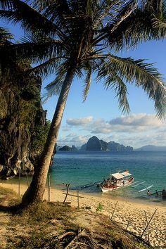 Seven Commandos Beach, El Nido, Palawan, the Philippines