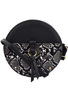 (This is an affiliate pin) Small Round Crossbody Bag for Women Black Leather Circle Purses Mini Shoulder Bags for Teen Girls