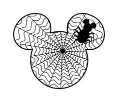 mickey as a vampire template for carving pumpkins mickey. Black Bedroom Furniture Sets. Home Design Ideas