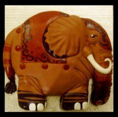 elephant cake by Mrs. Cakerific, via Flickr