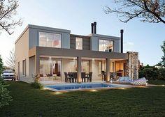 Estudio NF y Asociados - Casa Estilo Actual / Arquitecto / Arquitectos - PortaldeArquitectos.com
