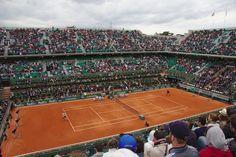 Troisième tour (vendredi 29 mai 2015) des Internationaux de France de Tennis à…