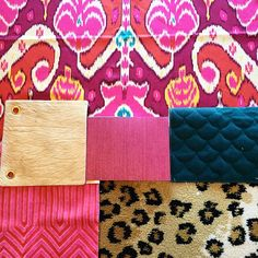 Holly Hollingsworth Phillips love the color story!  Fabulous girls room idea.