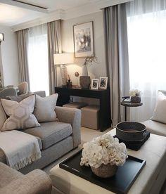 Decor Home Living Room, Living Room Goals, Elegant Living Room, New Living Room, Living Room Interior, Home Interior Design, Home And Living, Living Room Designs, Luxury Interior