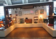 Pepperfry.com goes PHYGITAL !  Leading online furniture brand adds touch and feel to its range with a pop up experience center at airports manned with a sales executive equipped with a tablet to access the online store.