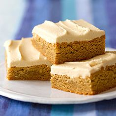 Peanut Butter Blondies (via Parents.com)