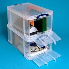 How cool is this for organization? You can access from the top or the end!