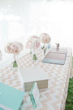 Blush Wedding Inspiration @OneWed