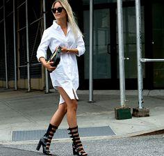 New York Fashion Week wiosna-lato 2016 - stylizacje, streetstyle, nyfw ss 2016