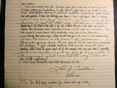 Found on Imgur. This woman does with handwriting what others do with voices. Incredible.