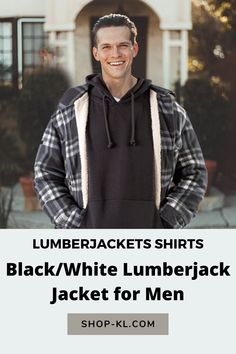 Looking for a versatile Lumber Jacket? Look no more! This Men´s plaid jacket is useful for everyday activities Our lumber jacket is great for chilled nights with the inner layer of fleece material, making it the ultimate buffalo jacket. Buffalo Jacket, White Heat, Everyday Activities, Plaid Jacket, Grey And White, Man Shop, Mens Fashion, Clothing, Mens Tops