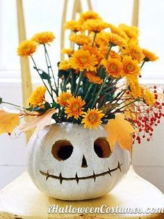 pumpkin decor - Halloween Costumes 2013