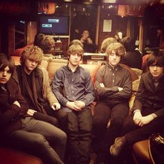 OH MY. TWO OF MY FAVORITE THINGS IN ONE PIcture? My life is complete!!!! Jake bugg and the strypes