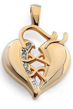 Colgante corazón corsé, gold filled. Apto para collar de hasta 3mm de grosor. Dimensiones: 34,3mm altura x 23,4mm ancho, peso 5,2 gr.