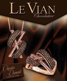 Le Vian...the only true Chocolate Diamonds