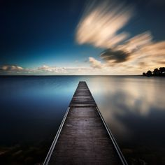 Xavier Rey Photographies - Le temps d'une pose II   Serenity II - Lac de Hourtin, France 2009