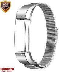 Fitbit Alta Bracelet Strap Wrist Band Stainless Steel Metal White Diamonds New #FitbitAltaBraceletStrap