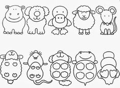 Z internetu - Sisa Stipa - Picasa Web Albums Spanish Classroom Activities, Preschool Learning Activities, Preschool Printables, Motor Activities, Kids Learning, Micro Creche, Preschool Colors, Cute Coloring Pages, Math For Kids