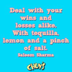How do you deal? #chuys