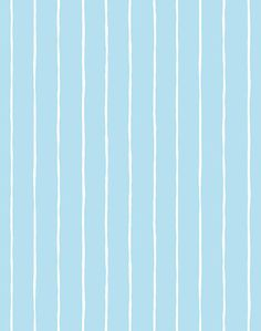 'Get In Line' Wallpaper by Wallshoppe - Baby Blue - Removable Panel