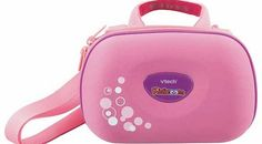 VTECH Kidizoom Solid Travel Bag - Pink Protect your VTech Kidizoom in style with this Solid Travel Bag. Pretty, pink and portable, this handy carry case lets you take your camera wherever you go. It has adjustable straps and features acces http://www.comparestoreprices.co.uk/educational-toys/vtech-kidizoom-solid-travel-bag--pink.asp