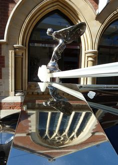 """""""Spirit of Ecstasy"""" 1925 Rolls Royce Silver Ghost Hood Ornament....Re- pin brought to you by #LowcostcarIns. at #HouseofInsurance #EugeneOregon"""