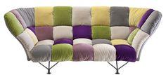 Canapé 32 cuscini / 3 places - L 255 cm