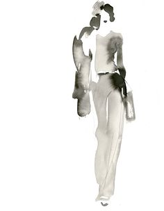 Aurore de la Morinerie fashion illustration