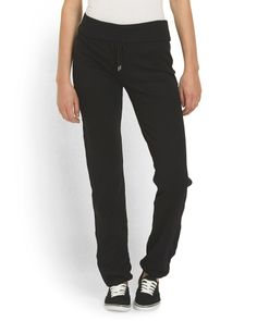 Solid Jogger With Back Pocket