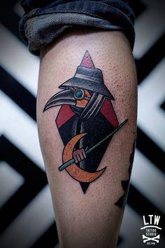 By Javier Rodríguez. LTW Tattoo Studio