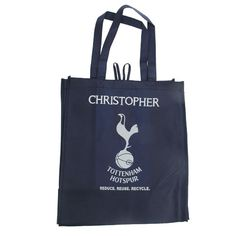 Personalised Reusable Tottenham Hotspur Tote Bag #spurs