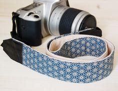 Kameraband | Kameragurt DSLR von Frau Fadenschein auf DaWanda.com