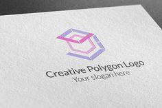 Creative Polygon Logo by BdThemes on @creativemarket